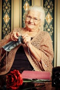 la grand-mère de notre enfance