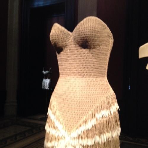 robe tressé