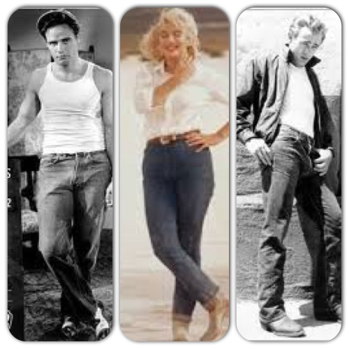 Marlon, Marilyn, James.