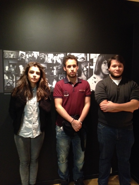 Sharon, Rheda et Ludovic.
