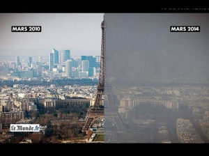 Paris, pollution