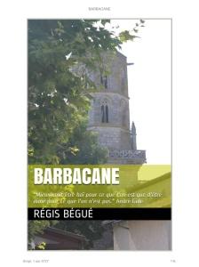 Barbacane de Régis Bégué