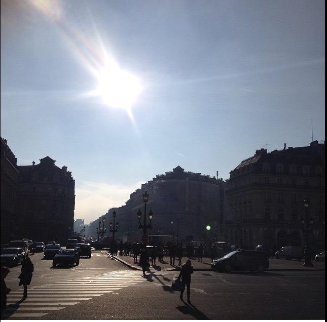 Paris / Jeune Vieillis Pas
