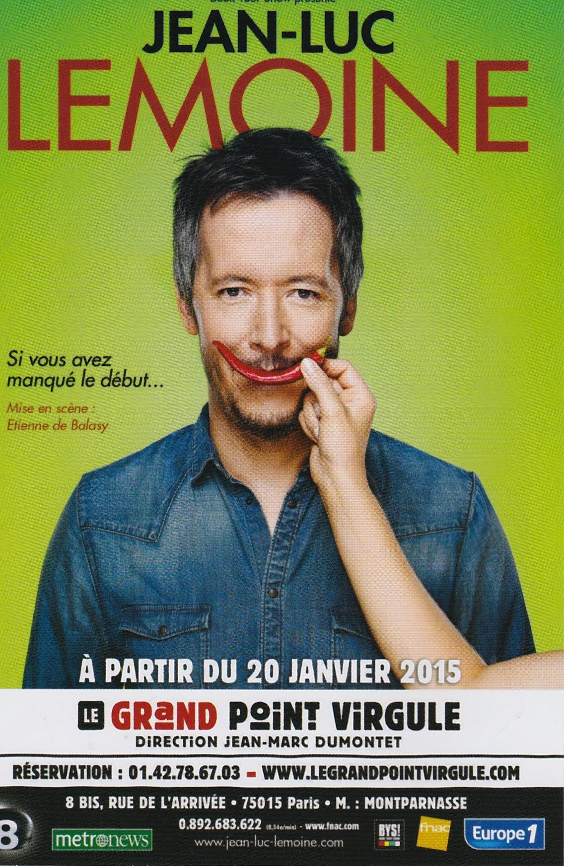 Jean-Luc Lemoine / Jeune Vieillis Pas